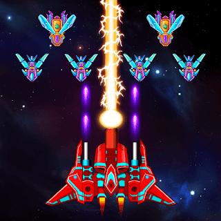 تحميل لعبة الاثارة Galaxy Attack: Alien Shooter النسخة المهكرة