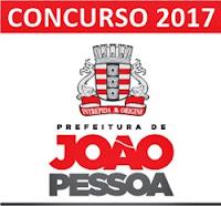 Concurso Prefeitura de João Pessoa 2017