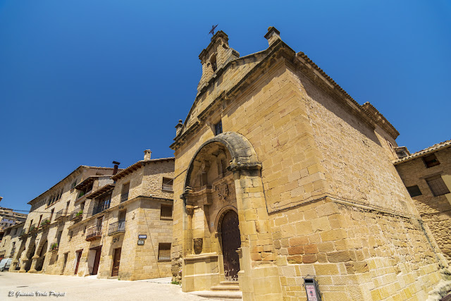 Capilla del Pilar - La Fresneda, Matarraña