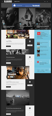 Bloggrid responsive best blogger template