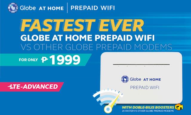 Globe At Home Prepaid WiFi Gizmo Manila