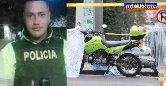 """Dos """"Presuntos"""" venezolanos asesinaron a un policía en Bogotá - Colombia"""