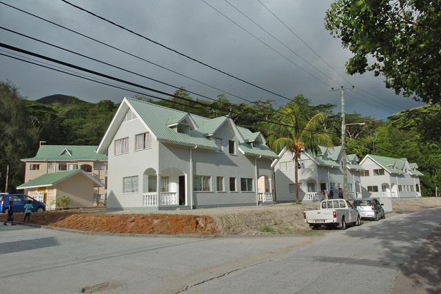 Doppelhäuser auf den Seychellen