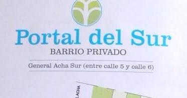 VENDO TERRENO EN BARRIO PORTAL DEL SUR, MEDANO DE ORO, SAN JUAN, ARGENTINA.