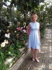 Niebieska sukienka Wallis S.