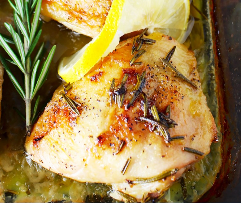 Paleo Lemon Butter Chicken #whole30 #glutenfree