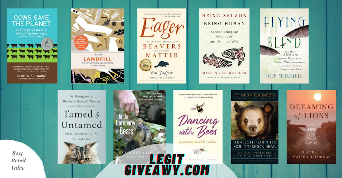 Enter To Win a 10 Book About Animal ( Worth Over : $851)