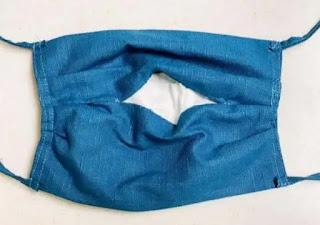 contoh masker kain