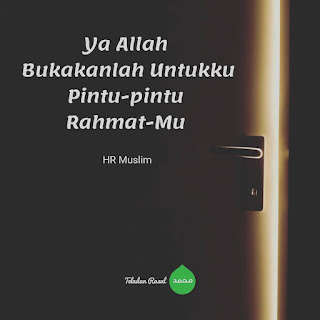 kata doa bukakanlah pintu rahmat