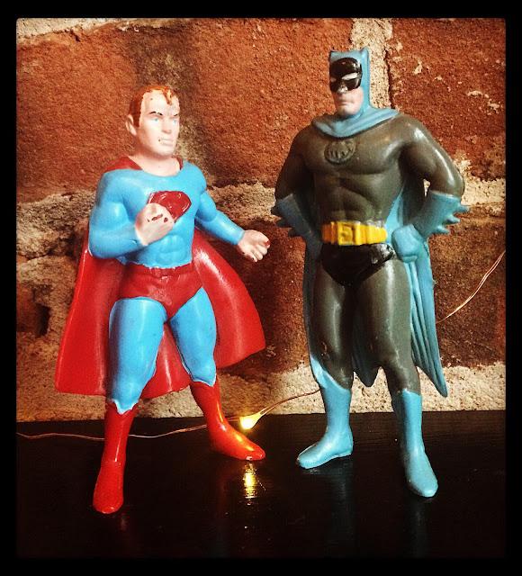 Superman Batman World's Finest chemtoy figures