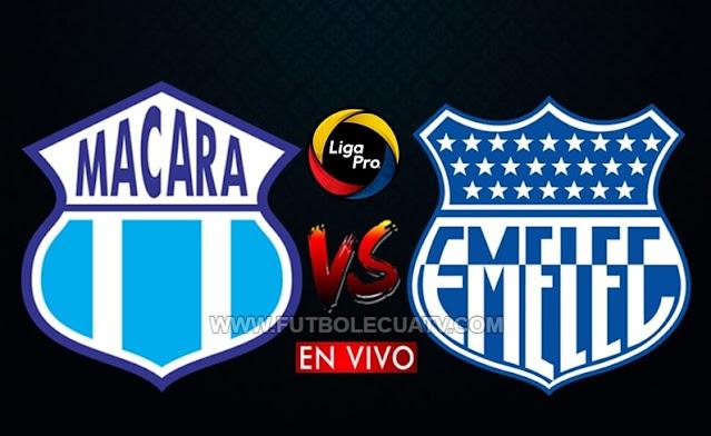 Macara y Emelec se enfrentan en vivo desde las 19h00, abriendo el telón de la jornada 4 del campeonato ecuatoriano, siendo transmitido por GOLTV Ecuador a efectuarse en el Estadio Bellavista de Ambato. Con arbitraje principal de Marlon Vera.