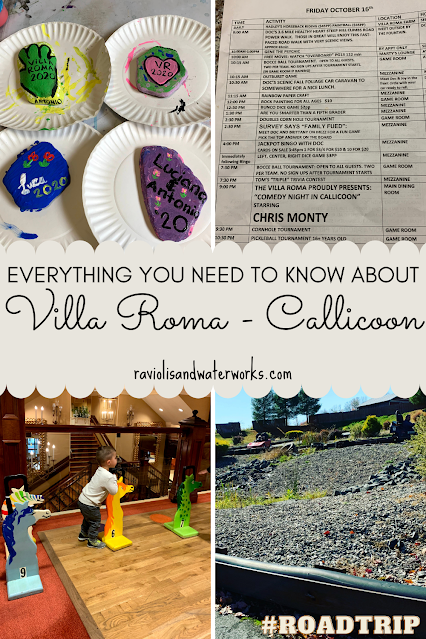 review of villa roma resort in upstate new york