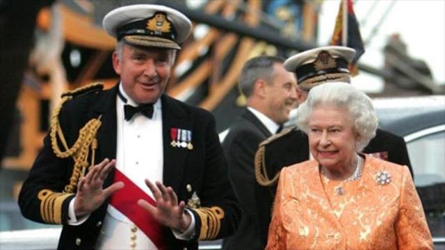 Almirante británico manda callar a Argentina por las Malvinas