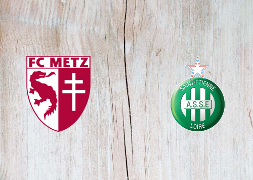 Metz vs Saint-Etienne -Highlights 25 October 2020