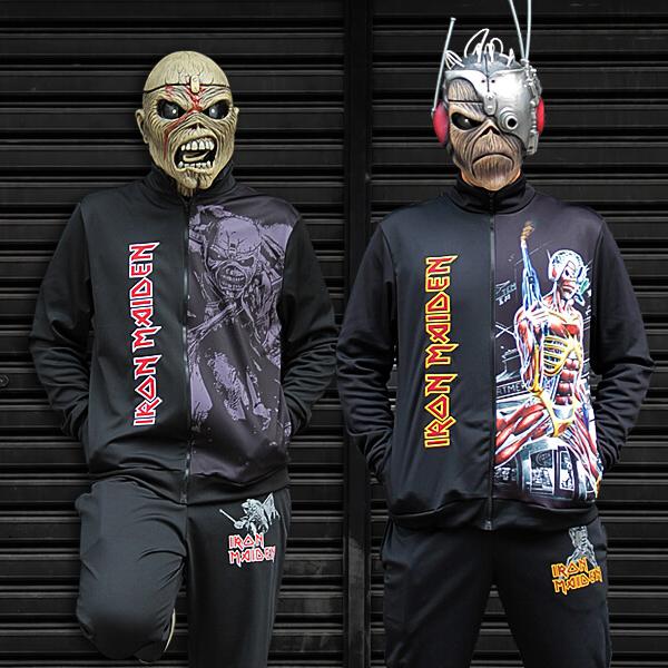 WA Sport: nova linha de jaquetas e calças oficiais do Iron Maiden