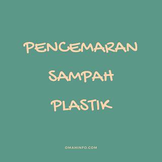 Pencemaran sampah plastik
