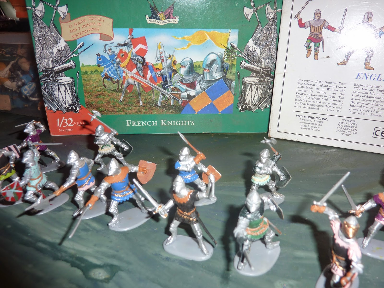 My 1 32 World French Knights 100 Year War