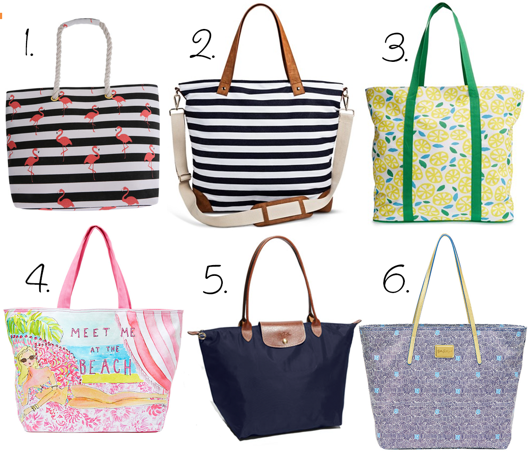 Cute And Functional Summer Beach Pool Bags All Of These Are Really Fun Stylish Enough To Carry Your Essentials They