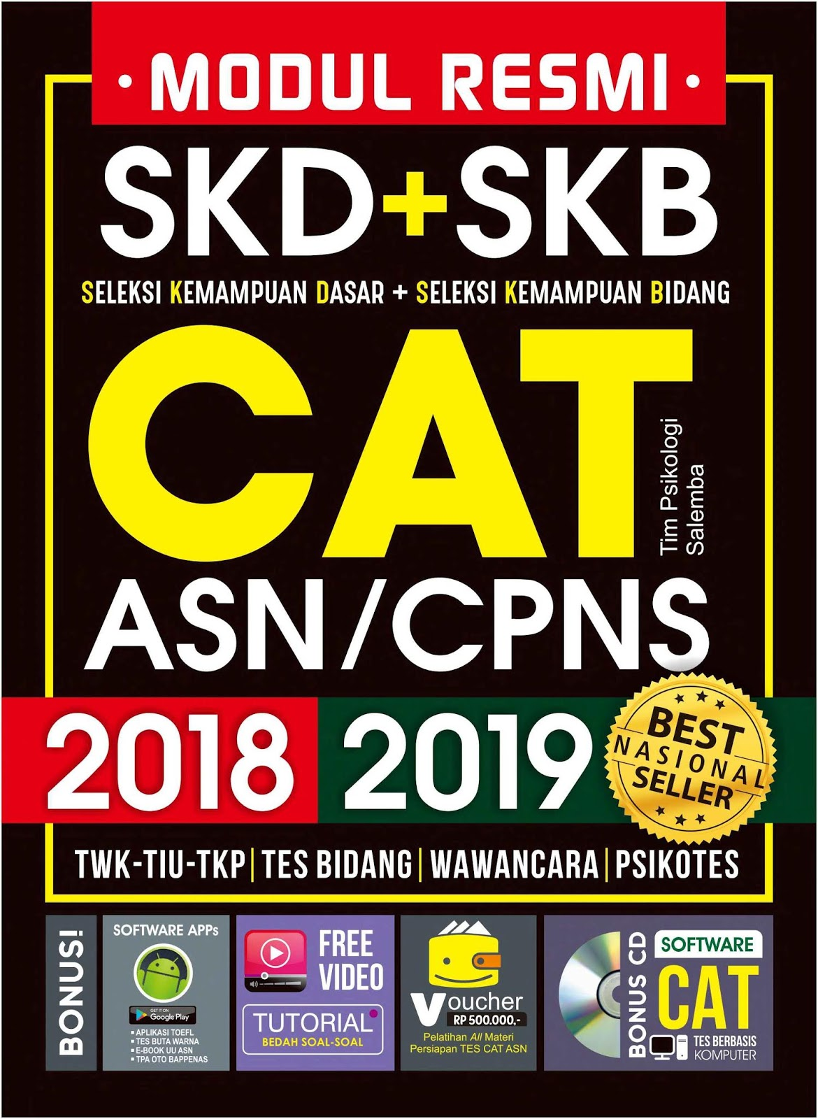 Download Modul Resmi SKD dan SKB CAT CPNS 2018-2019