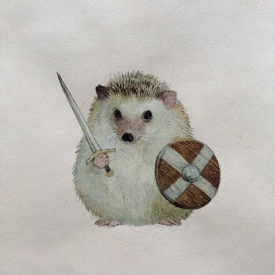 04-The-hedgehog-barbarian-Lily-Seika-Jones-www-designstack-co