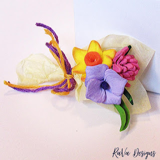 rava designs sculpey creations spring decor polymer clay flowers