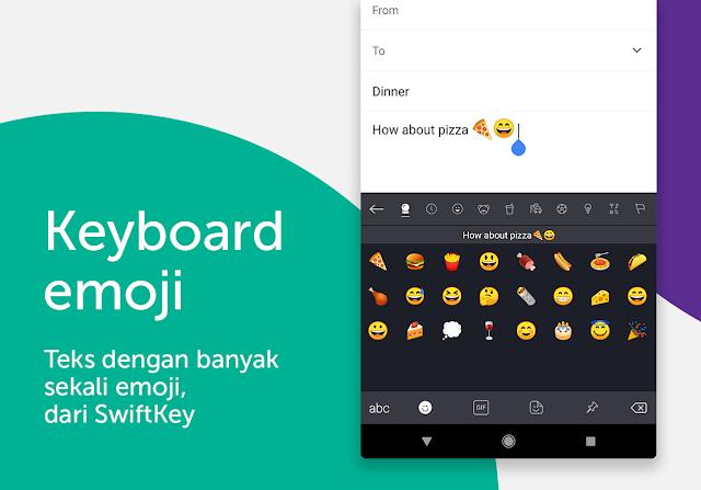 Keyboard SwiftKey Gratis untuk Android