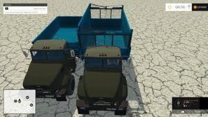 Kraz 18B trucks pack