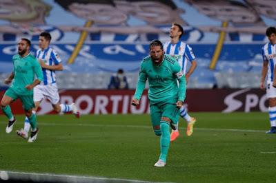 ملخص واهداف مباراة ريال مدريد وريال سوسيداد (2-1) في الدوري الاسباني