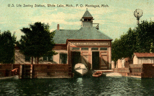 US Life Saving Station White River