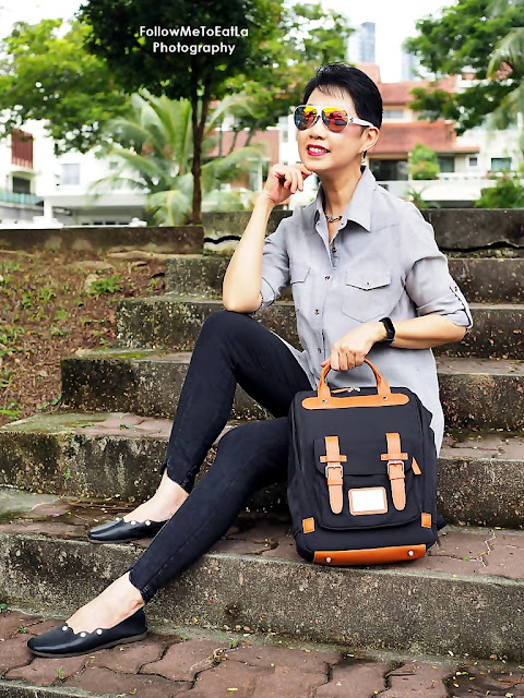 """GASTON LUGA - BITEN 15"""" Black-Brown Backpack Product Review"""