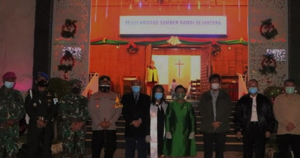 Wakapolda Kepri Cek Pengamanan Malam Tahun Baru di Kota Batam