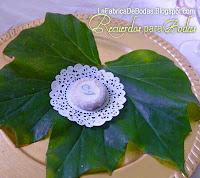 Venta de mazapanes  y alfajores personalizados para recuerdos de boda