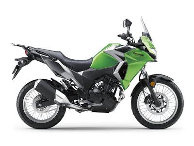 2017 Kawasaki Versys-X 300 side profile image
