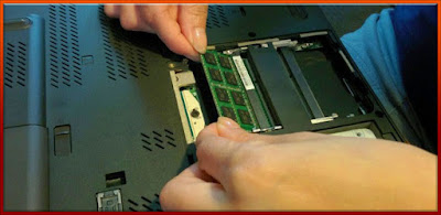 Ram memiliki peranan penting yang dapat mempengaruhi kecepatan laptop anda, saling terkait dari poin pertama mengenai sisi software. Apabila anda memiliki Ram 1 GB dan ingin menjalankan program yang sangat berat, otomatis laptop anda pasti akan terasa lambat.