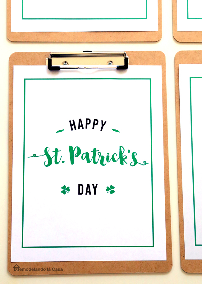 free printables in clipboards.