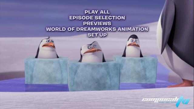 The Penguins of Madagascar Operation Antarctica DVDR NTSC Español Latino Menú Full