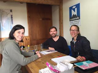 Cursos de español en La Montaña Bariloche Patagonia