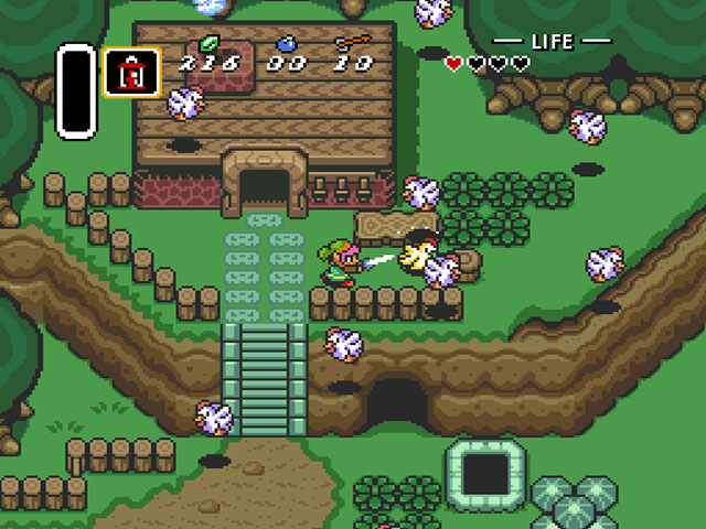 The Legend of Zelda: Link to the Past screenshot 1