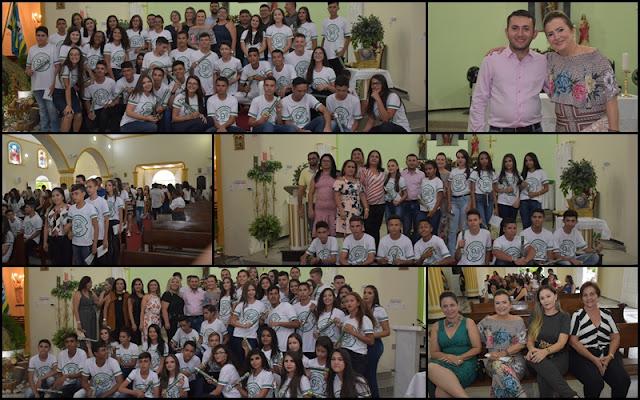 EDUCAÇÃO DIPLOMA 103 ALUNOS CONCLUDENTES DO ENSINO FUNDAMENTAL II EM FRONTEIRAS; FOTOS