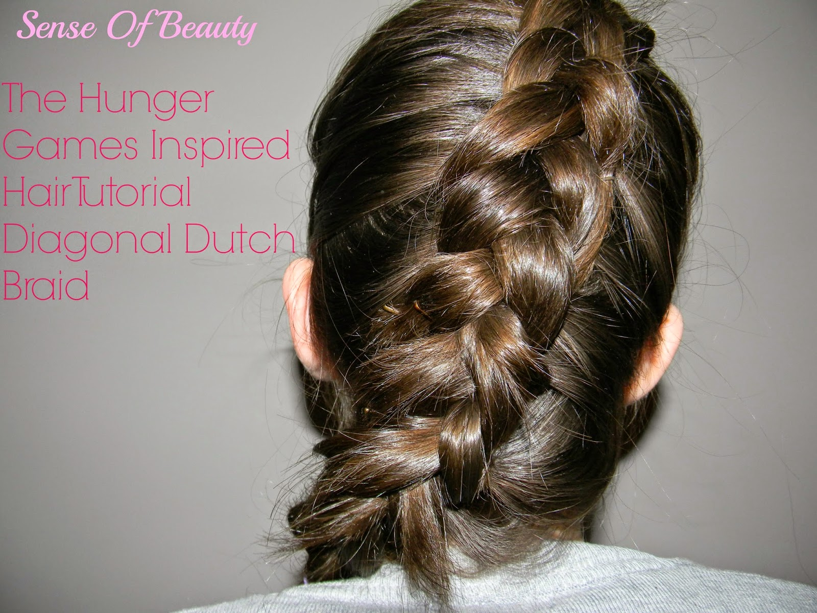 Hairstyles With Dutch Braids: Sense Of Beauty: The Hunger Games Inspired Hairstyle