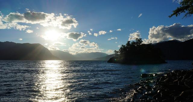 Atardecer, Lago Lacar, San Martin de los Andes, Neuquen