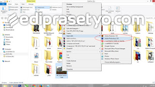 Tutorial Photoshop Cara membuka File di photohop