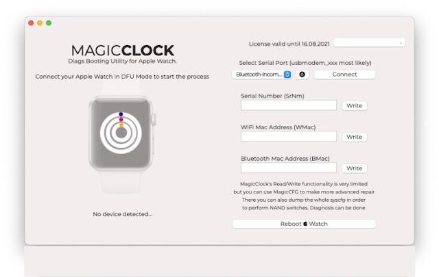 MagicClock & MagicAWRT Adapter Apple Repair Free Software iBus Download
