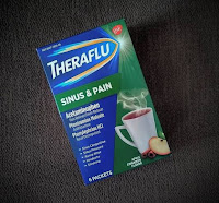 product review theraflu sinus and pain apple cinnamon