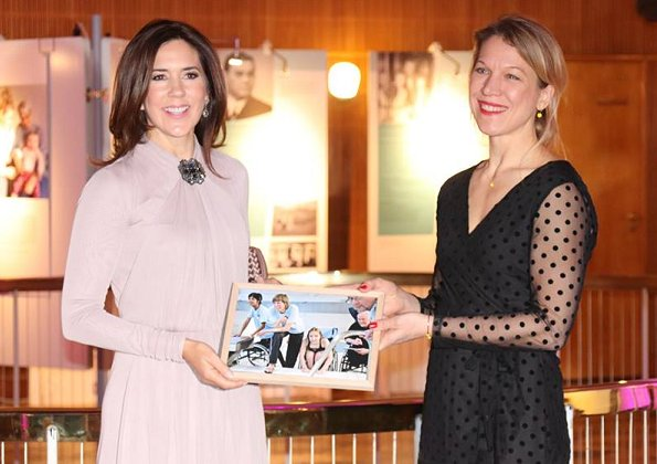 Aarhus European Volunteering Capital 2018. Crown Princess Mary wore Ralph  Lauren dress and Prada coat