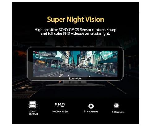 LANMODO Color Super Night Vision Vast Pro Car Dash Cam