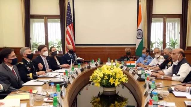 Third India-US 2+2 Dialogue 2020 held in New Delhi