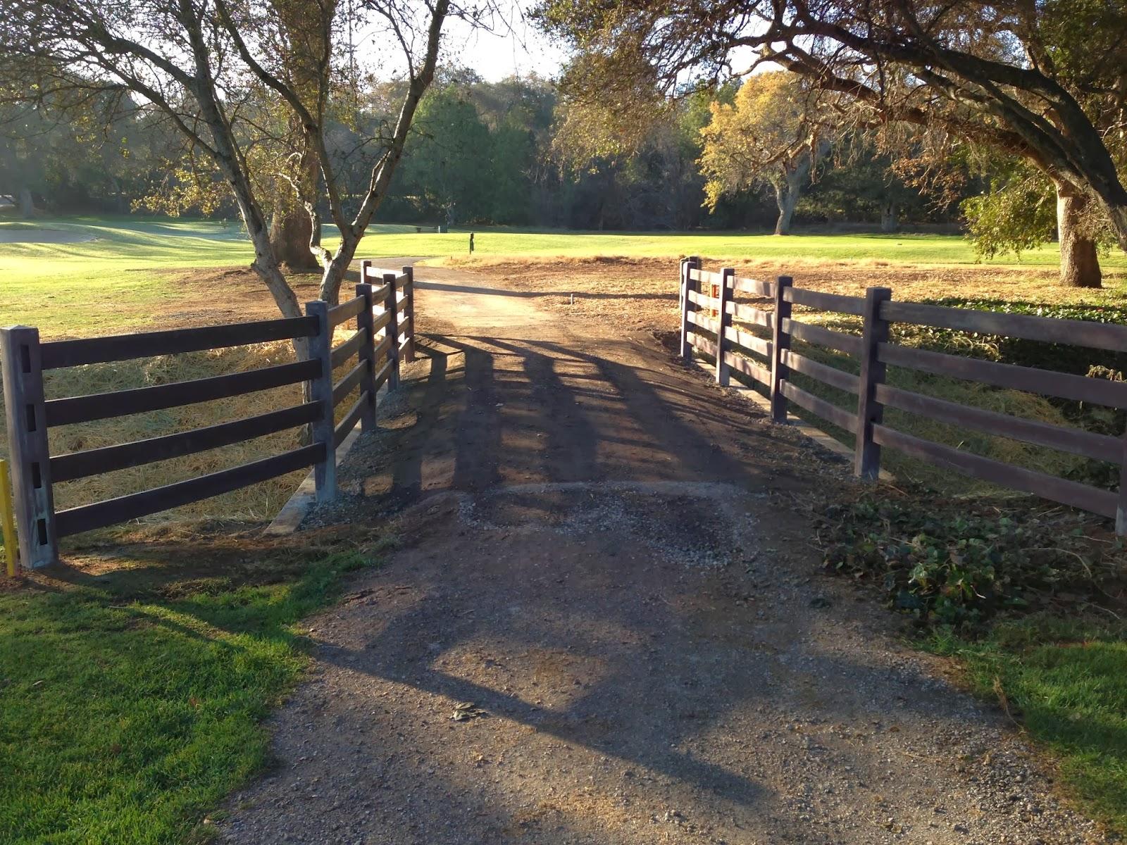 Stanford Golf Course Superintendent's Blog: Bridge/Culvert