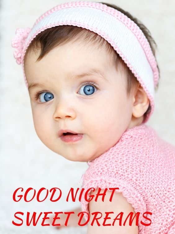 Cute Baby Good Night Images
