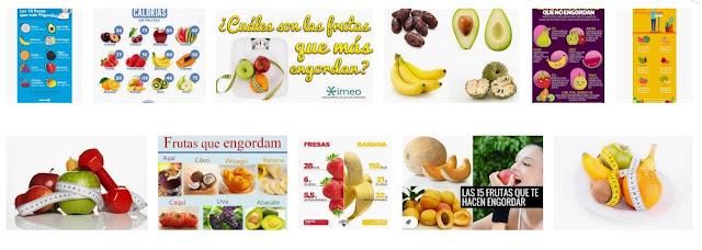 Frutas que ayudan a aumentar de peso